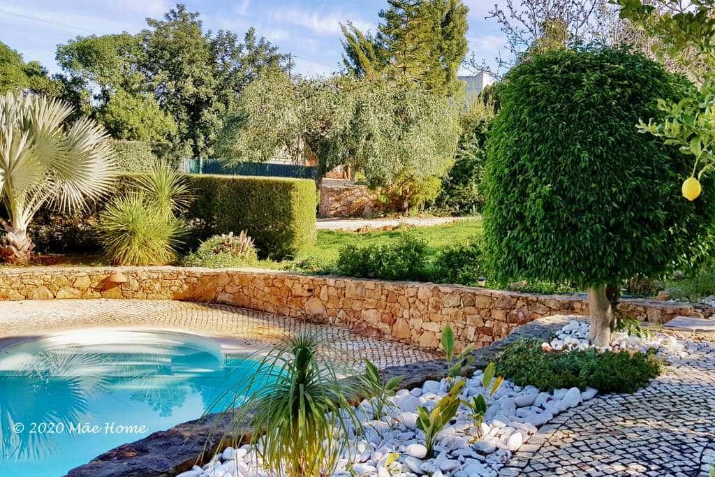 Property rental Algarve with Poland garden Olhão Quelfes