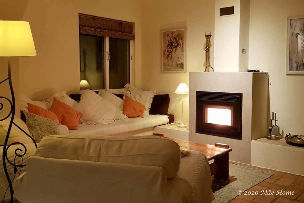 Property rental Algarve Quelfes Olhão - living room