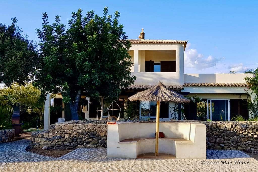 Property rental Quelfes Olhão Algarve with petanque