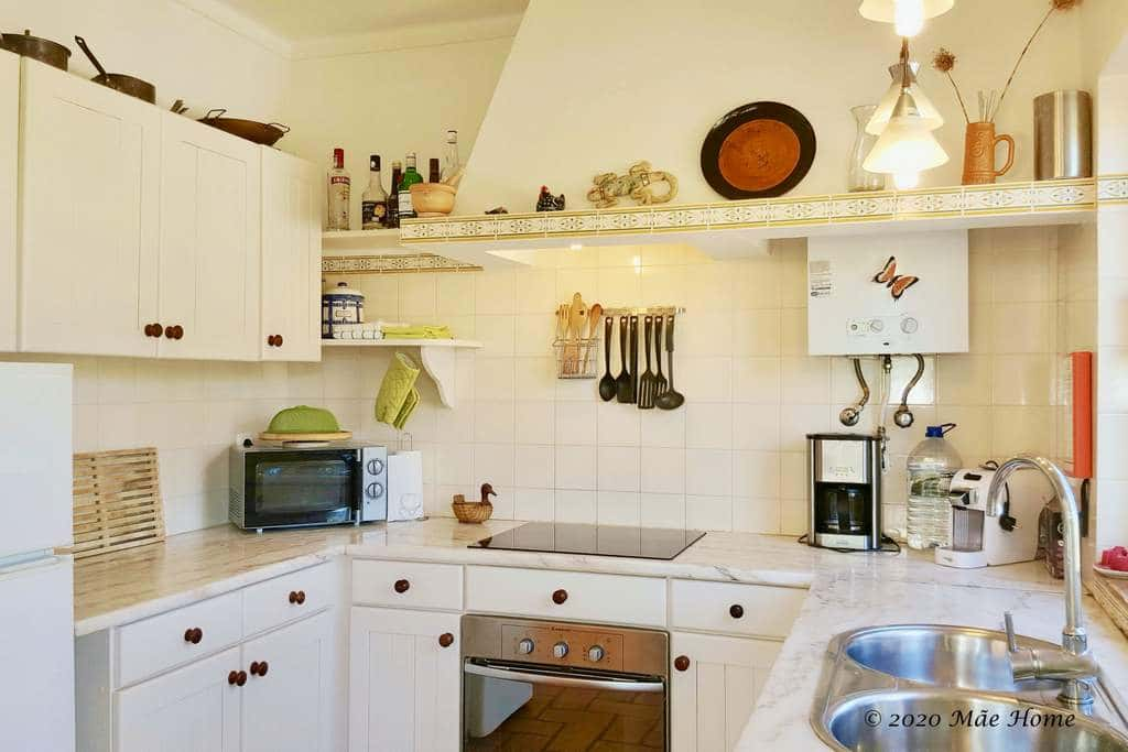Property rental Quelfes Olhão Algarve - Kitchen